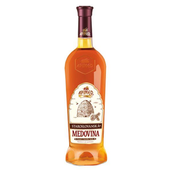 Apimed - Old Slavic Mead Dark | Met aus Waldhonig | Honigwein aus der Slowakei