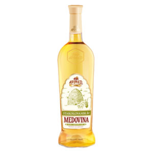 Apimed - Old Slavic Mead Light | Met aus Akazienblütenhonig | Honigwein aus der Slowakei