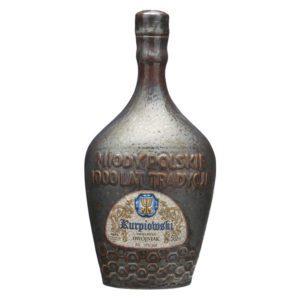 Apis - Dwojniak Kurpiowski in Tonflasche | Met mit schwarzer Johannisbeere | Honigwein aus Polen | Piratenblut