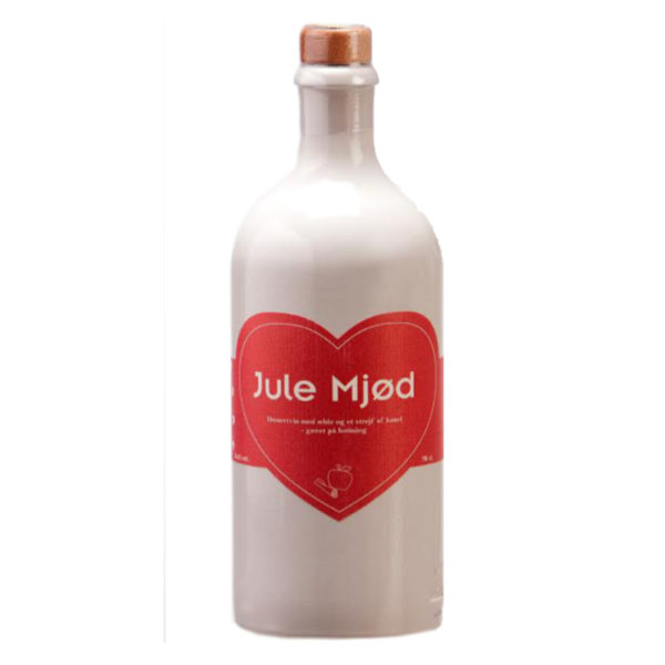 Dansk Mjod - Jule Mjod | Weihnachtsmet mit Herz | Apfel Honigwein aus Dänemark