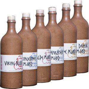 Dansk Mjod - Familie (6 Flaschen) | Met Set | Honigwein aus Dänemark