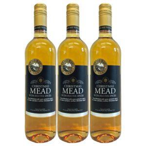 Glühmet Christmas Mead 3 Flaschen | Heisser Honigwein