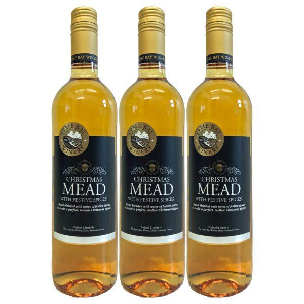 Glühmet Christmas Mead 3 Flaschen   Heisser Honigwein