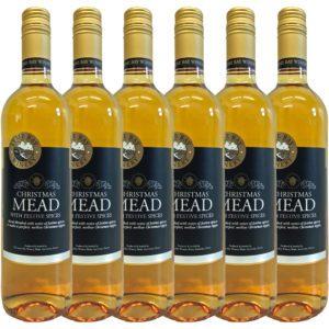 Glühmet Christmas Mead 6 Flaschen | Heisser Honigwein