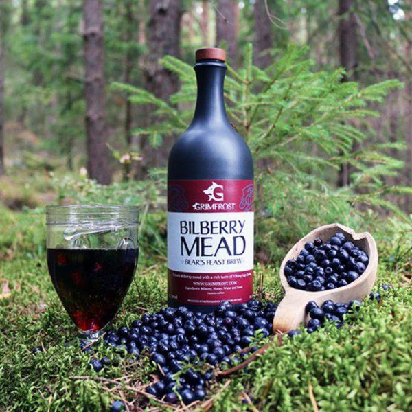 Grimfrost - Bilberry Mead | Bears Feast Brew | Honigwein mit Blaubeere | Met aus Schweden