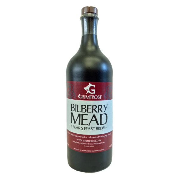 Grimfrost Bilberry Mead | Bears Feast Brew | Met Honigwein mit Blaubeere Heidelbeere aus Schweden