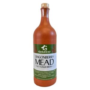 Grimfrost Lingonberry Mead | Suttungr Brew | Met Honigwein mit Preiselbeeren und Heidehonig trocken