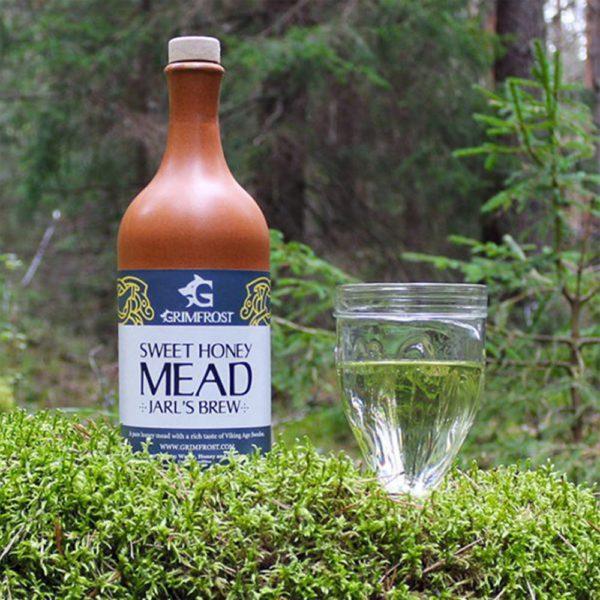 Grimfrost - Sweet Honey Mead | Jarls Brew | Honigwein aus Himbeerblütenhonig | Met aus Schweden