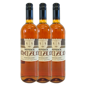 Highland Wineries Moniack Mead 3 Flaschen Set Heidehonig | Met Honigwein aus Schottland
