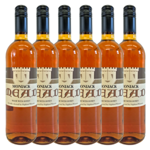 Highland Wineries Moniack Mead 6 Flaschen Set Heidehonig | Met Honigwein aus Schottland