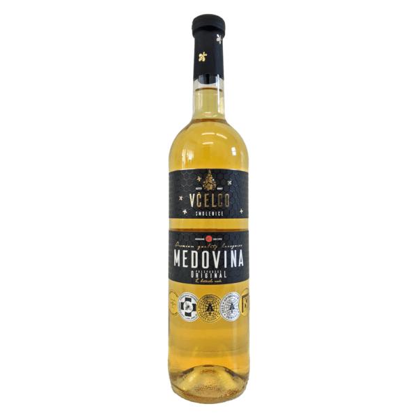 Medovina Original   Met Honigwein Gewürzmet mit Zimt und Vanille aus Slowakei