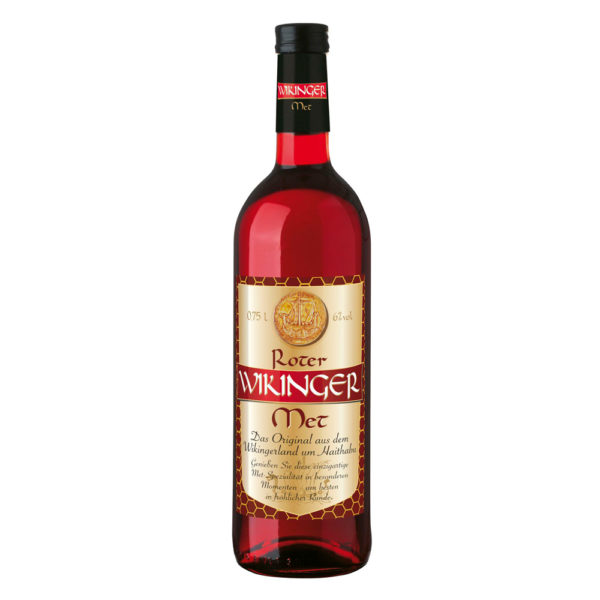 Wikinger Met - Rot | Wikingerblut | Honigwein mit Kirschsaft aus Haithabu