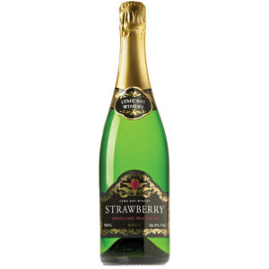 Lyme Bay Winery - Strawberry Sparkling Wine