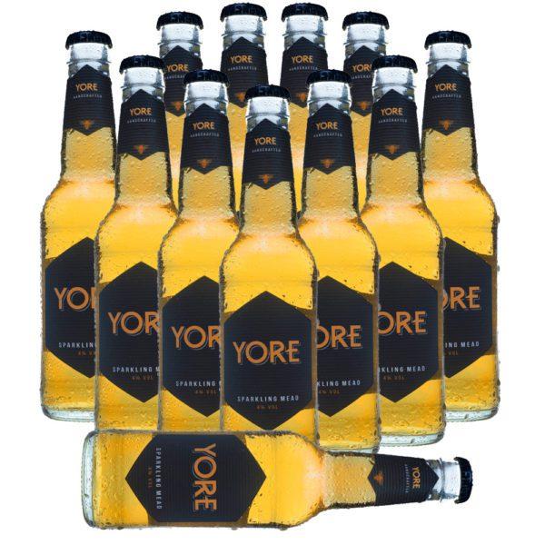 YORE - 12 Flaschen handcrafted sparkling mead