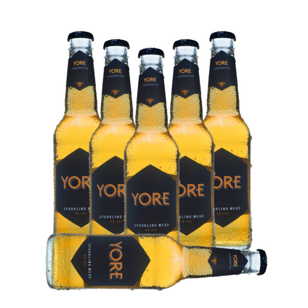 YORE - 6 Flaschen handcrafted sparkling mead