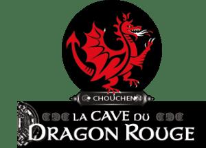 La Cave du Dragon Rouge Logo   Met aus Frankreich   Chouchenn aus der Bretagne
