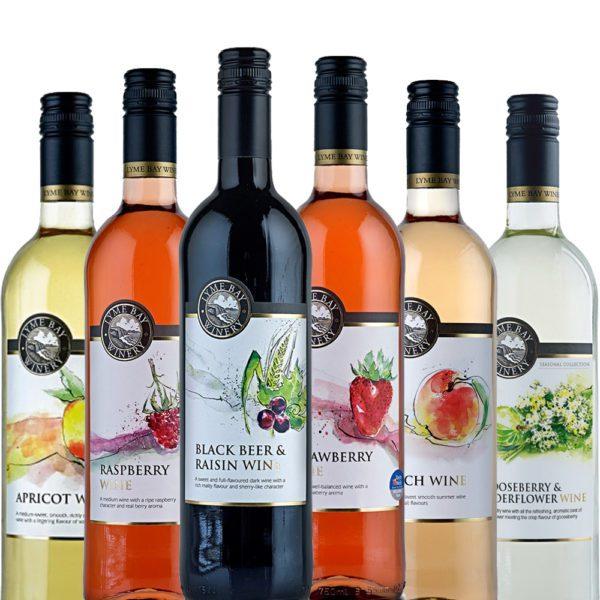 Fruchtwein Set | Verschiedene Sorten Fruchtwein aus England
