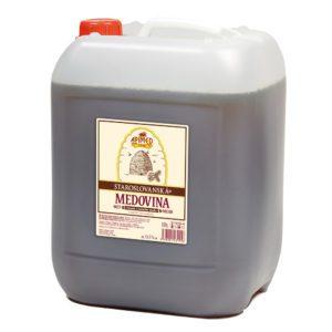 Apimed Old Slavic Mead Dark im 10 Liter Kanister | Met aus Waldhonig | Honigwein aus der Slowakei