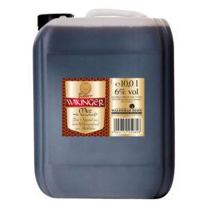 Roter Wikingermet im 10 Liter Kanister | Wikingerblut | Honigwein mit Kirschsaft