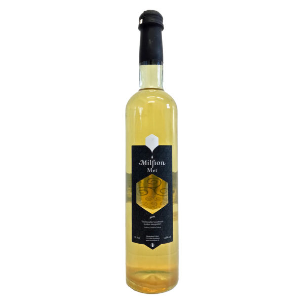 Metsiederei Eckert Milfion Black Label   Fassgereifter Premium Honigwein aus der Schweiz