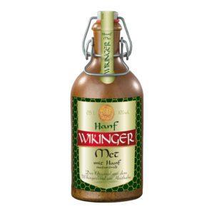 Wikinger-Met-Hanf-Tonflasche
