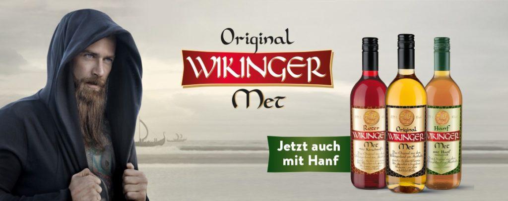 Wikinger Met neu mit Hanf