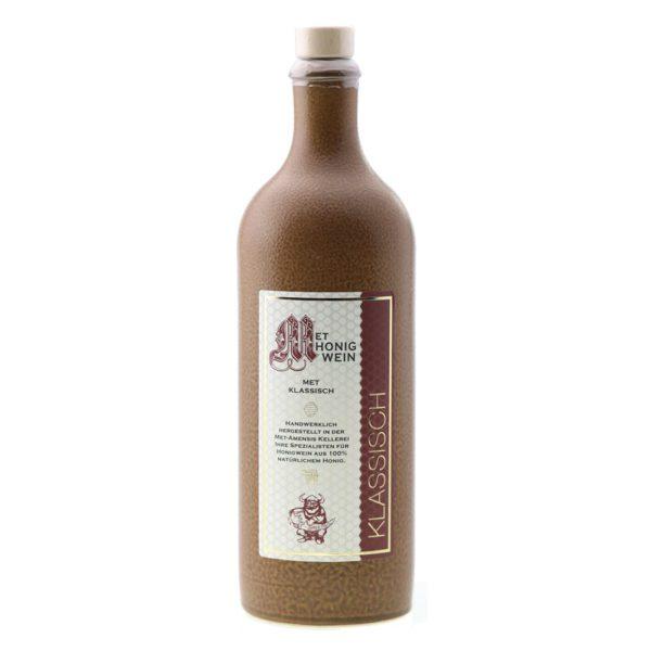 Met-Amensis Honigwein Klassisch Tonflasche