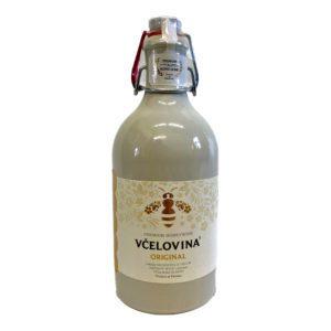 Vcelovina-Original-Tonflasche-Vorderseite