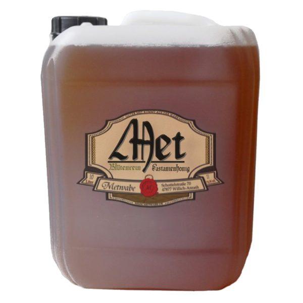 Metwabe-Met-Honigwein-aus-Kastanienhonig-im-10L-Kanister