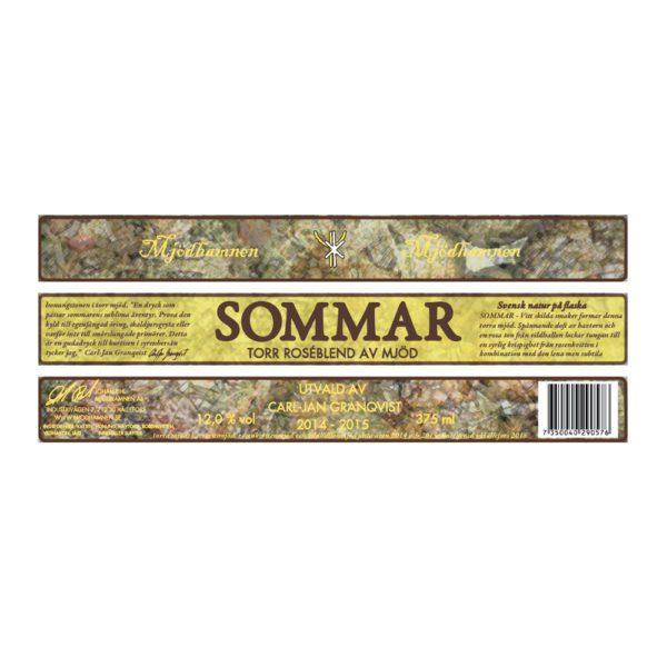 Mjödhamnen-Sommar-Etikett