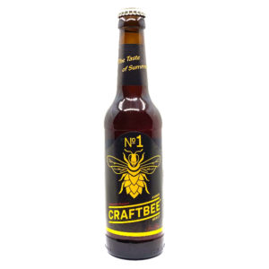 Craftbee No1 Amber Honey Honigbier Vorderseite