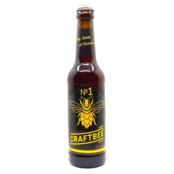 Craftbee No1 Amber Honey Honigbier Vorderseite