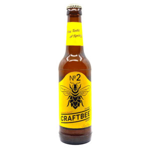 Craftbee No2 Golden Honey Honigbier Vorderseite