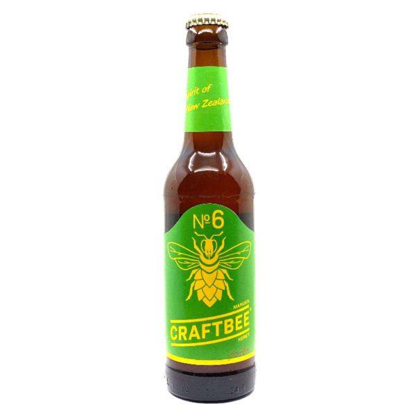 Craftbee No6 Manuka Honey Honigbier Vorderseite