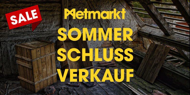 Metmarkt Sommerschlussverkauf 2021